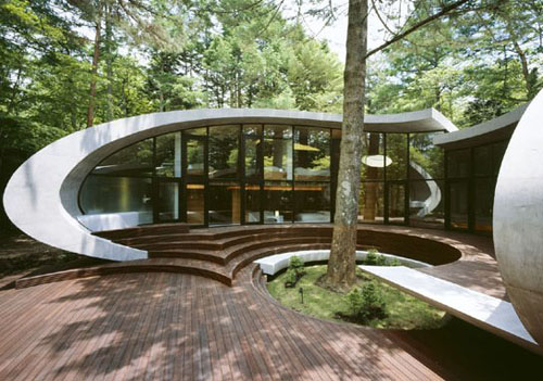 Shell House in Japan by ARTechnic in main architecture  Category