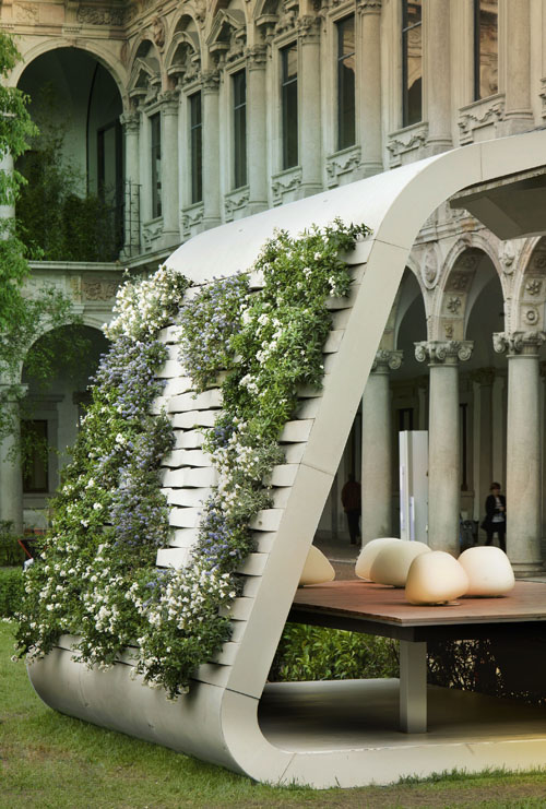 South Face Installation, Milan, by Iosa Ghini