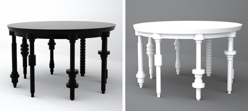 Table Mock in home furnishings  Category