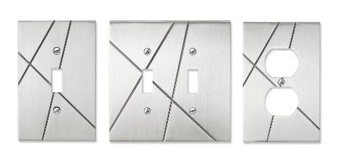 Traverse Switchplates in interior design  Category