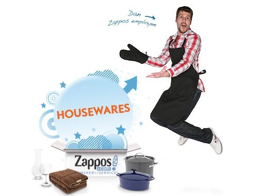 Housewares at Zappos?