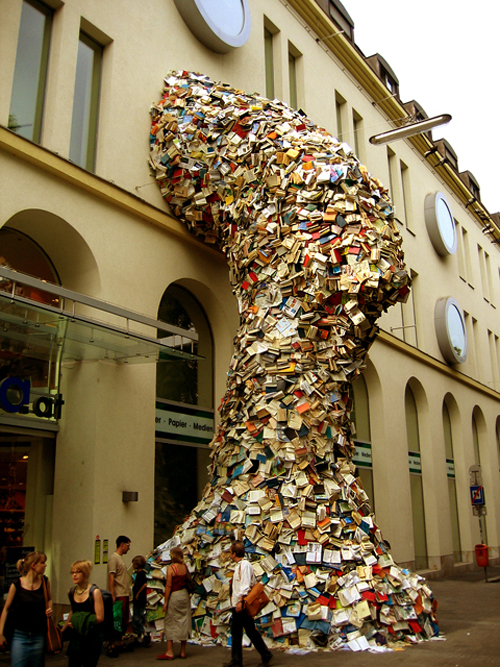 Cascading Books in main art  Category