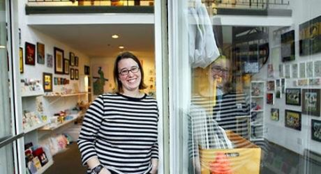 Friday Five with Andrea Porter of Bluebottle Art Gallery