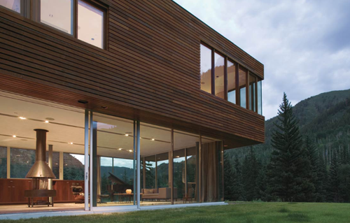 Bar House in Colorado By Peter L. Gluck & Partners in main architecture  Category
