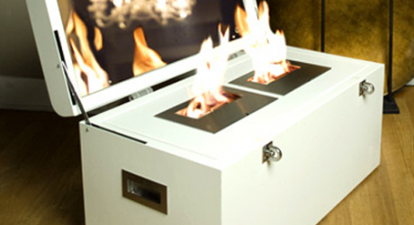 Atria Trunk Fireplace
