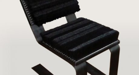 Bristle Me Chair by Meagan Roberts