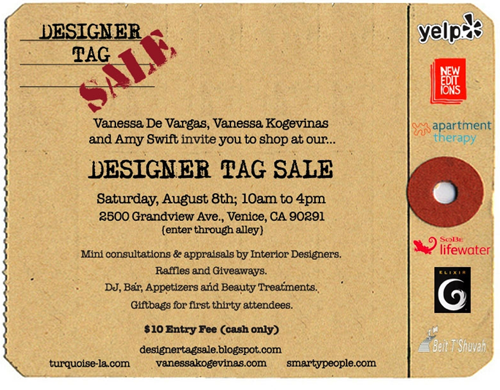 designer yard sale