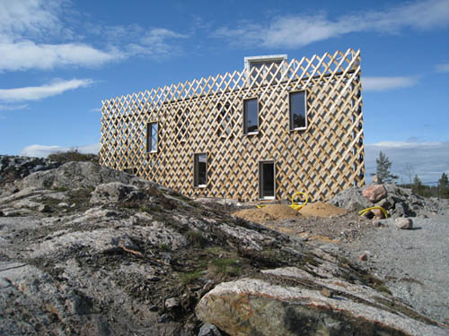 Garden House in Sweden by Tham & Videgård Hansson in main architecture  Category