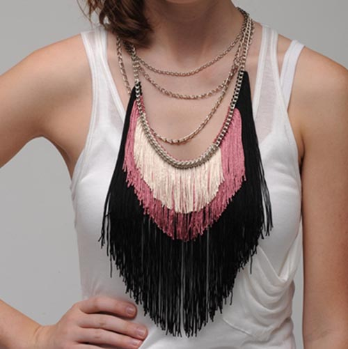 Max Fringe Necklace