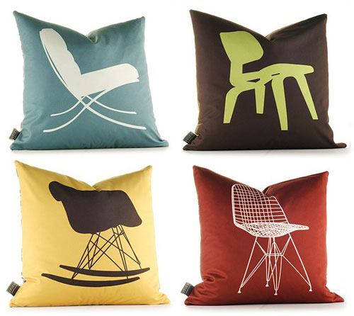 New Chair Pillows from Inhabit