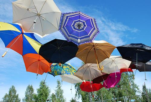 umbrella-installation