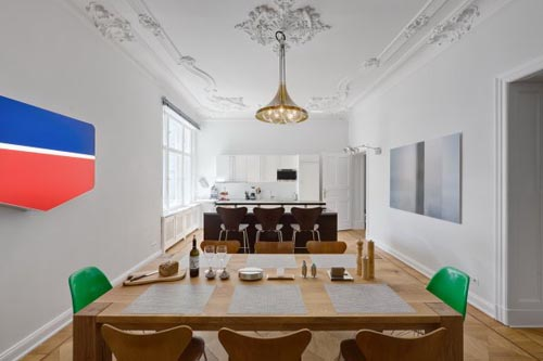 Architecture Interior Design Main Berlin Apartment In Germany By Rodeo