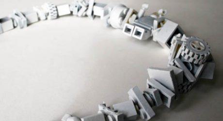 Dusty Necklace by Camilla Hounsell Halvorsen