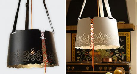 Fat Lace Lamp