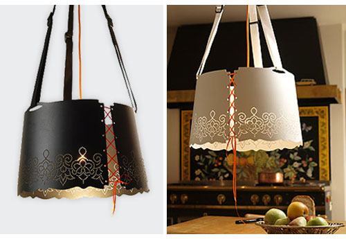 Fat Lace Lamp