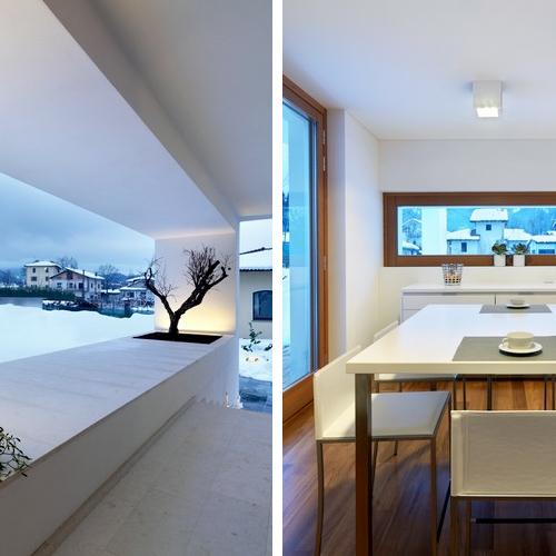 Horizontal space by damilano studio architects design milk - Residence horizontal space damilano studio ...
