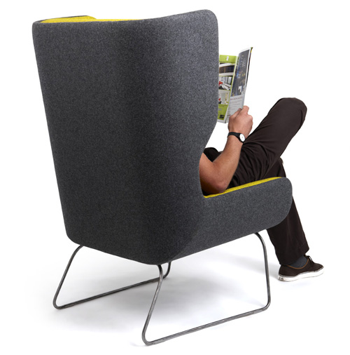 Hush Chair from Naughtone in main home furnishings  Category