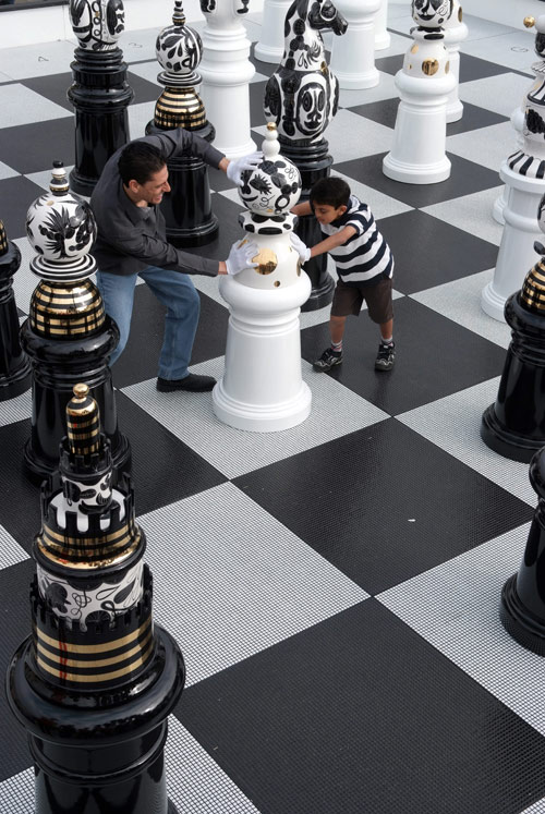 Jaime Hayon Chess Set in art  Category