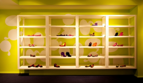 Kensiegirl Footwear Goes Digital in interior design  Category