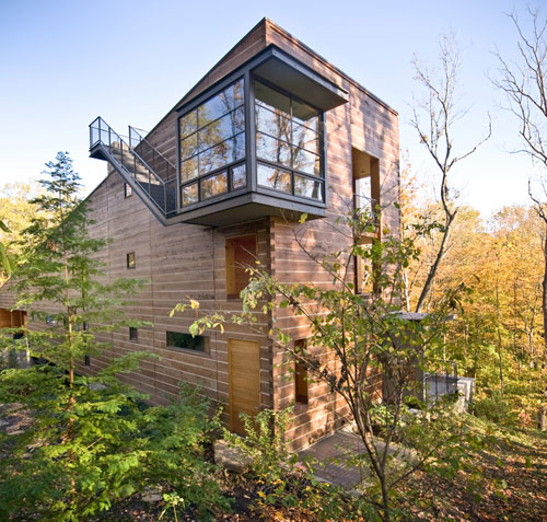 Lamson-West Residence in Ohio by John Senhauser Architects