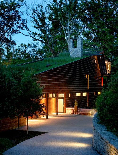 Lamson West Residence in Ohio by John Senhauser Architects in architecture  Category