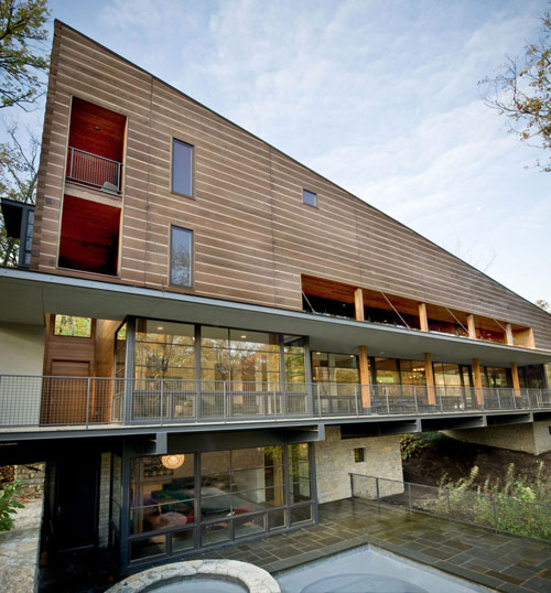 Lamson West Residence in Ohio by John Senhauser Architects in main architecture  Category