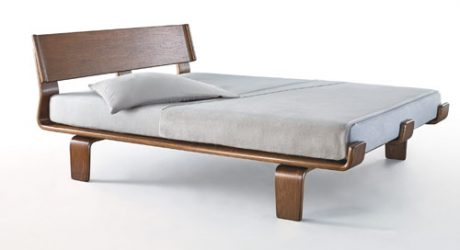 Alpine Series Bed from Modernica