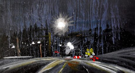 Mreeuh Chang's Traffic Paintings