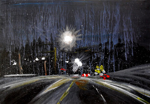 Mreeuh Chang's Traffic Paintings