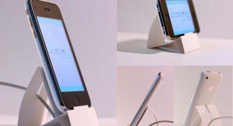 Downloadable Paper iPhone Dock