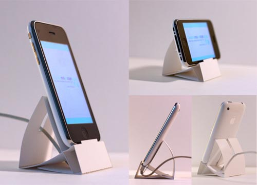 Downloadable Paper iPhone Dock in technology art  Category