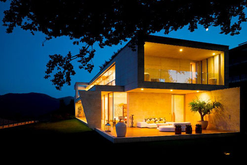 Luxury Villa in Switzerland in main architecture  Category