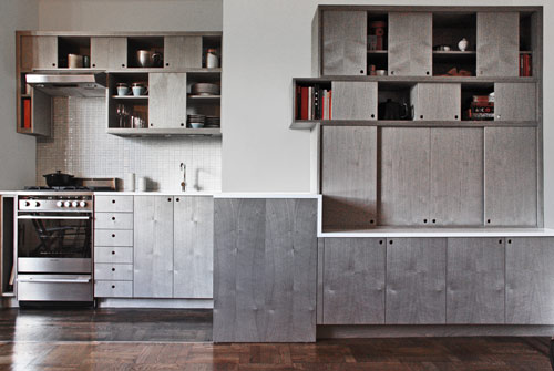 Sliding Kitchen by Workstead