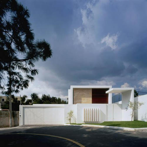 Cube House in Mexico by Agraz Arquitectos in main architecture  Category