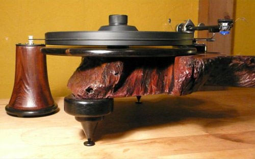 Wooden Turntables in technology main  Category