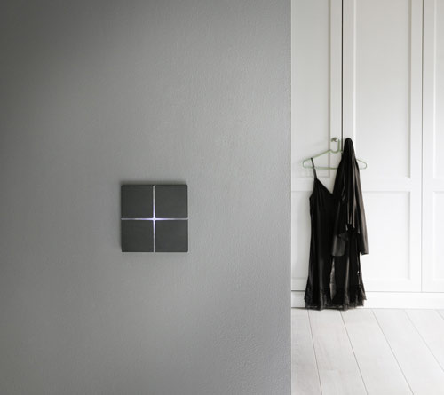 Sentido Light Switch by Basalte