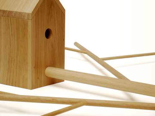 Birdhouse from Vlaemsch() in main home furnishings  Category