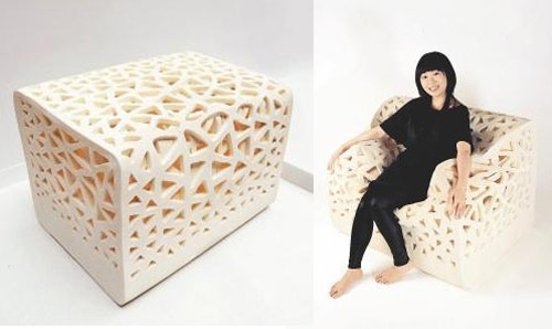 Breathing Chair Made of Foam in home furnishings  Category