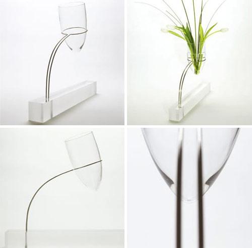 Cantilever Vase by Miranda Watkins