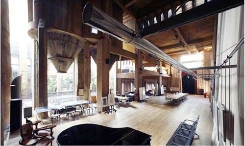 The Cement Factory Loft in Barcelona by Ricardo Bofill in main architecture  Category