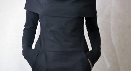 Cowl Neck Pocket Tunic