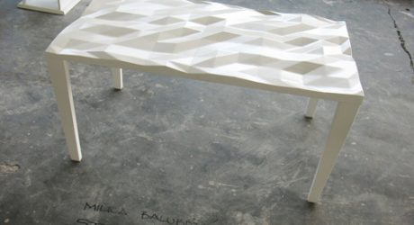Crumple Table by Milica Balubdzic