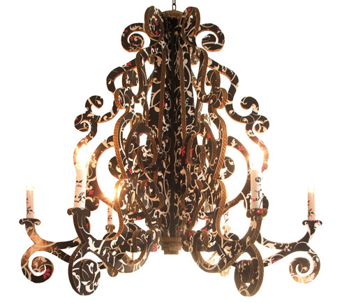 The Edge Chandelier