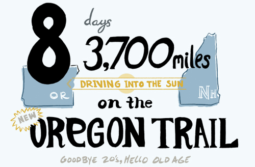 8 Days and 3,700 Miles Driving in main art  Category