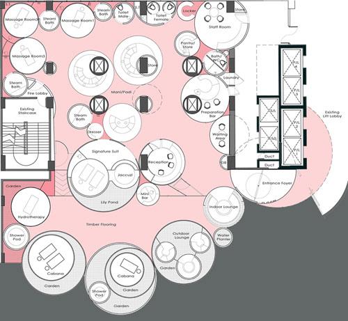 Furama Hotel Spa by Formwerkz in main interior design  Category