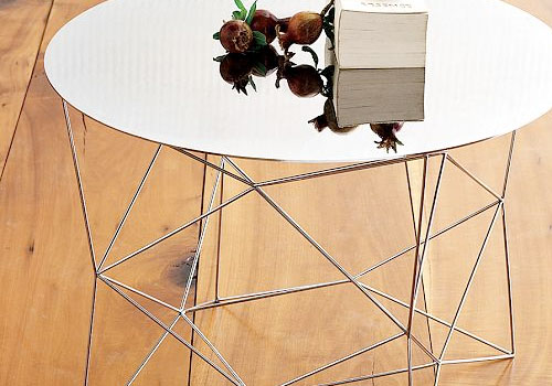 Geo Side Table by West Elm in home furnishings  Category