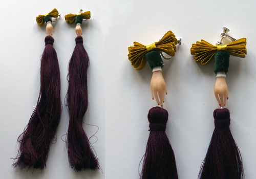 Hairy Socks Jewelry by Ruta Kiskyte in style fashion main  Category
