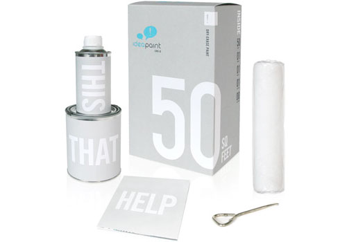 Dry Erase Paint by IdeaPaint