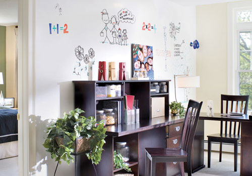 Dry Erase Paint by IdeaPaint in main interior design  Category