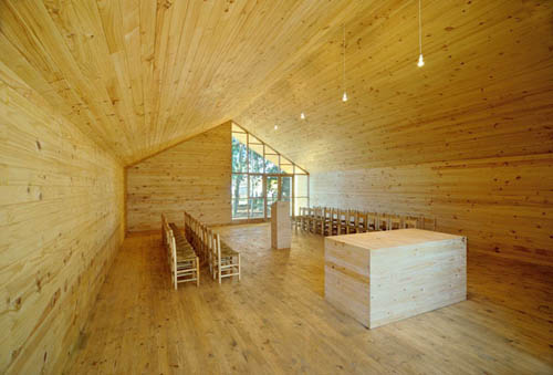 Junquillos Chapel in Chile by Claudio Baladron and Diego Grass in main architecture  Category